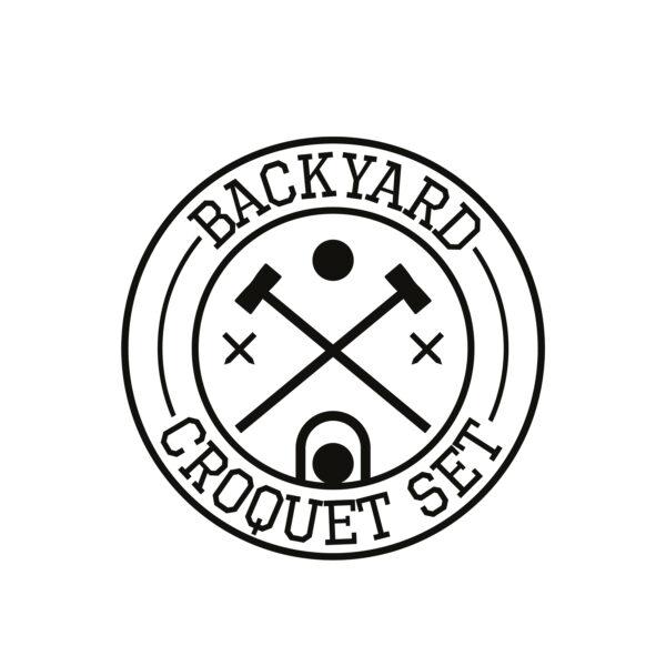 Backyard Croquet Set Symbol