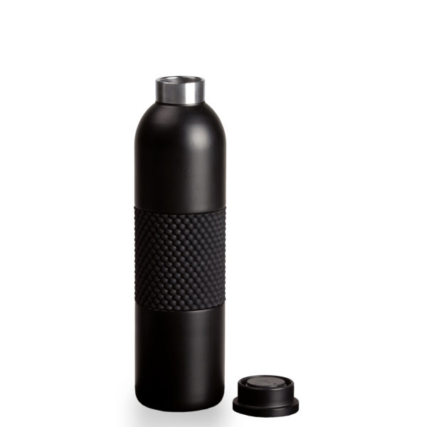 Bottle with Lid Off