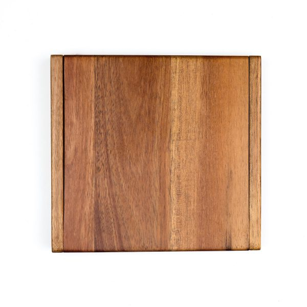 Clamshell Cheese Board Top View