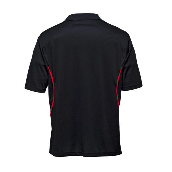 Black/Red Back