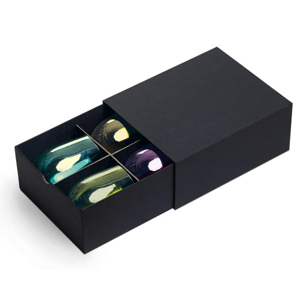 Festa Wine Glass Set Presentation Drawer Open