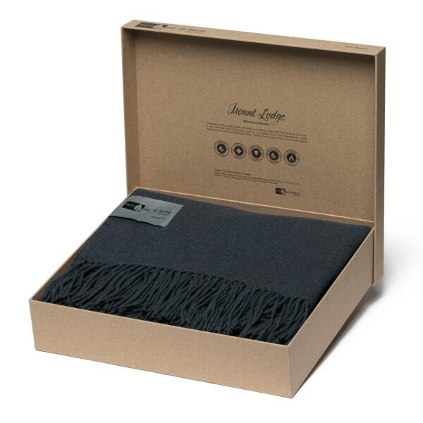 Merino Blanket in Kraft Box