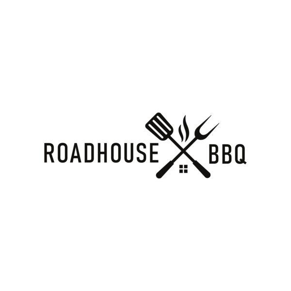 Roadhouse BBQ Tongs Logo