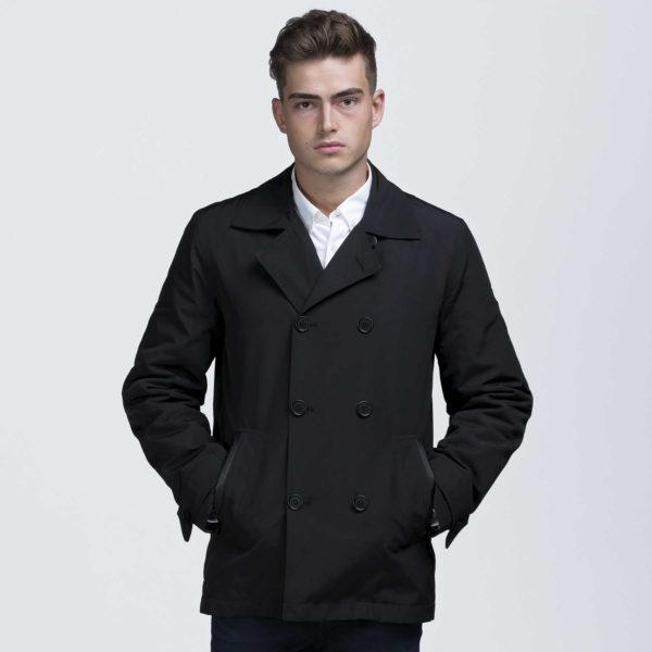 Dakota Jacket - Black - buttoned up