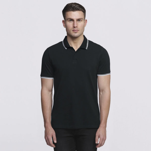 Mens Black/White - Front
