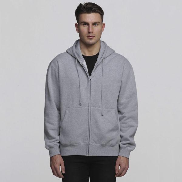 Mens Grey Marle - Front