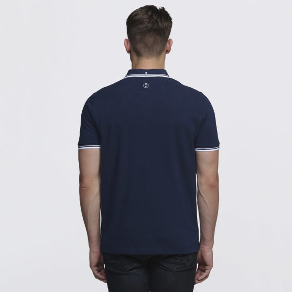 Mens Navy/White - Back