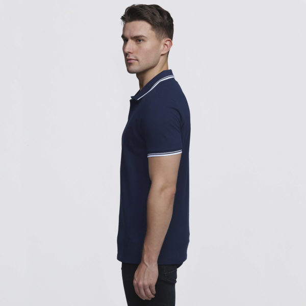 Mens Navy/White - left