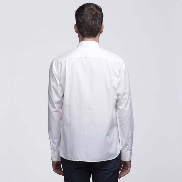 Mens White - Back