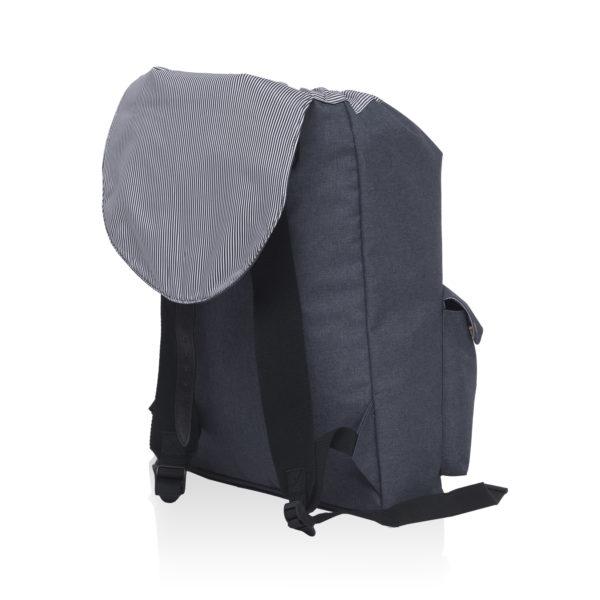 Grey Melange - Back (Open)