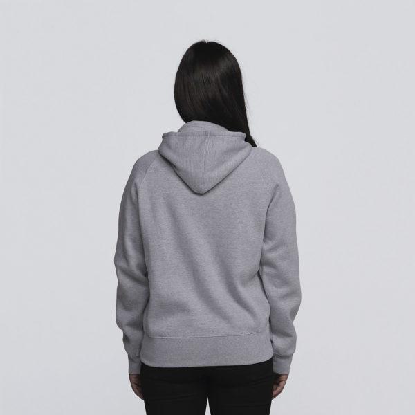 Womens Grey Marle - Back