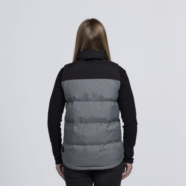 Grey Melange/Black - Back