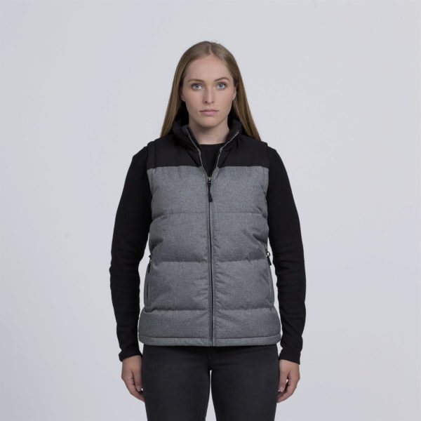 Grey Melange/Black - Front
