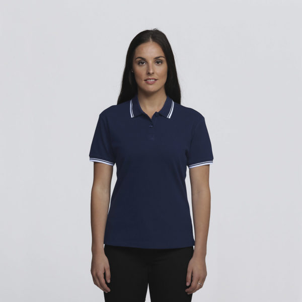 Womens Navy/White - Front