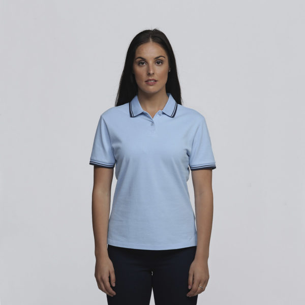 Womens Sky/Navy - Front