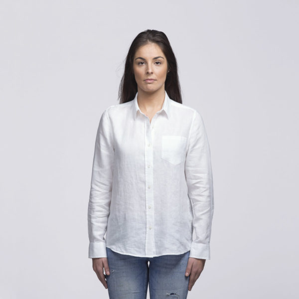 Womens White - Front
